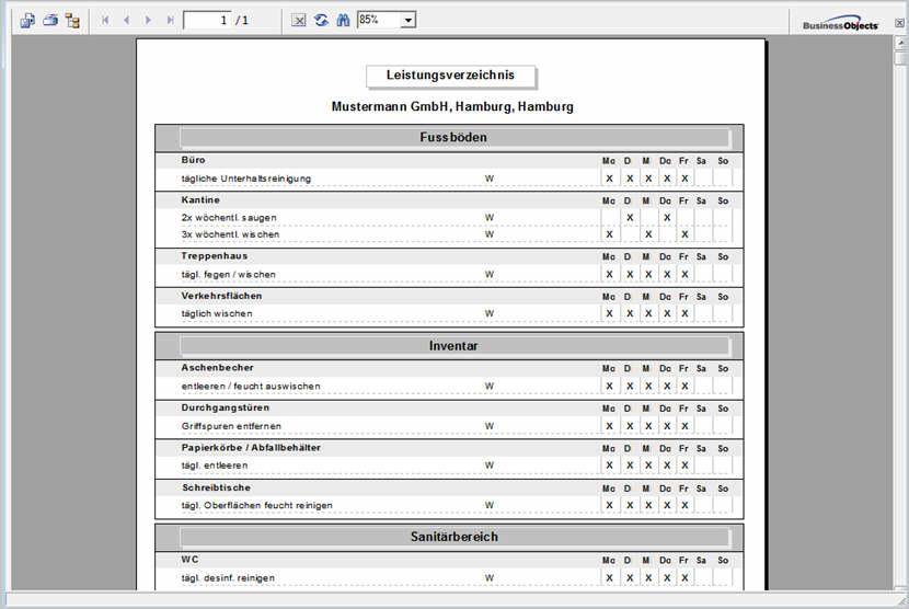 CLEAN-CALC KALKULATION - Software für die Gebäudereinigung
